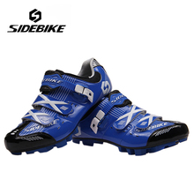 SIDEBIKE Professional Men Women Breathable MTB Mountain Bike Racing Athletic Shoes Outdoor Sports Bicycle Bike Cycling