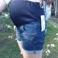 2016 Горячие Материнства Шорты Модные Джинсы Шорты Для Беременных Одежда Летом Деним Эластичный Пояс Беременность Шорты