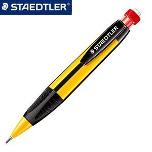 Image 1 - STAEDTLER 771 ołówek automatyczny rysunek ołówek automatyczny s szkoła papiernicze artykuły biurowe trójkąt ołówek pręt z gumką 1.3mm