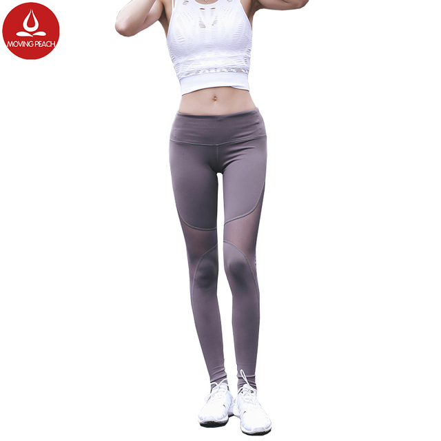 a4c4a51ad3ccf Fitness yoga running pants women sport leggings fitness women damen yoga  pants spandex polyester sport jpg