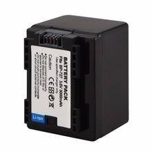 3000 мАч BP 727 709 718 Перезаряжаемые цифровой Батарея для Canon VIXIA HF M56 M506 M52 R38 R300 R36 Камера li-Ion Bateria