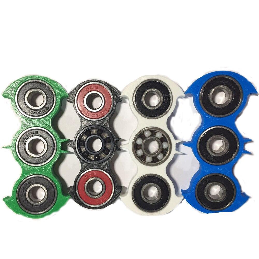 New Batman Style Hand Spinner HandSpinner Fidget Spinner Gyro Bat Torqbar Toys No Box Just OPP