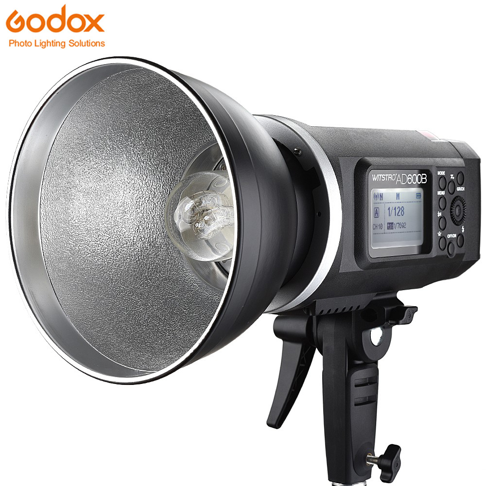 все цены на Godox AD600B 600Ws TTLGN87 High Speed Sync Bowens Mount Outdoor Flash Strobe Light with 2.4G Wireless X System 8700mAh Battery онлайн