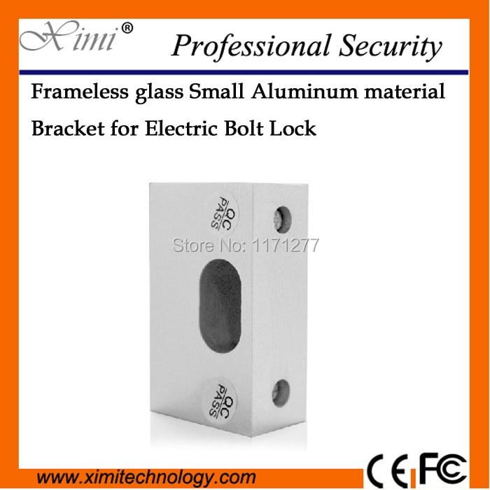 இAlta calidad puerta de cristal sin marco perno cerradura eléctrica ...