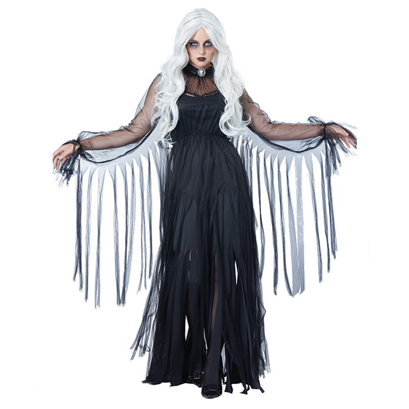 Wandering Soul In The Night Witch Costume Halloween Scary