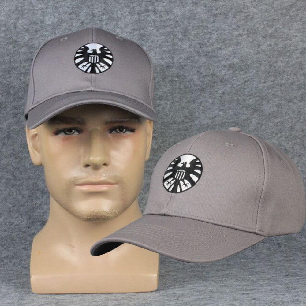 Captain Marvel Caps Carol Danvers the Shield Basdball Cap Unisex Adjustable Hip Hop Sun Hat Cosplay Costume Props
