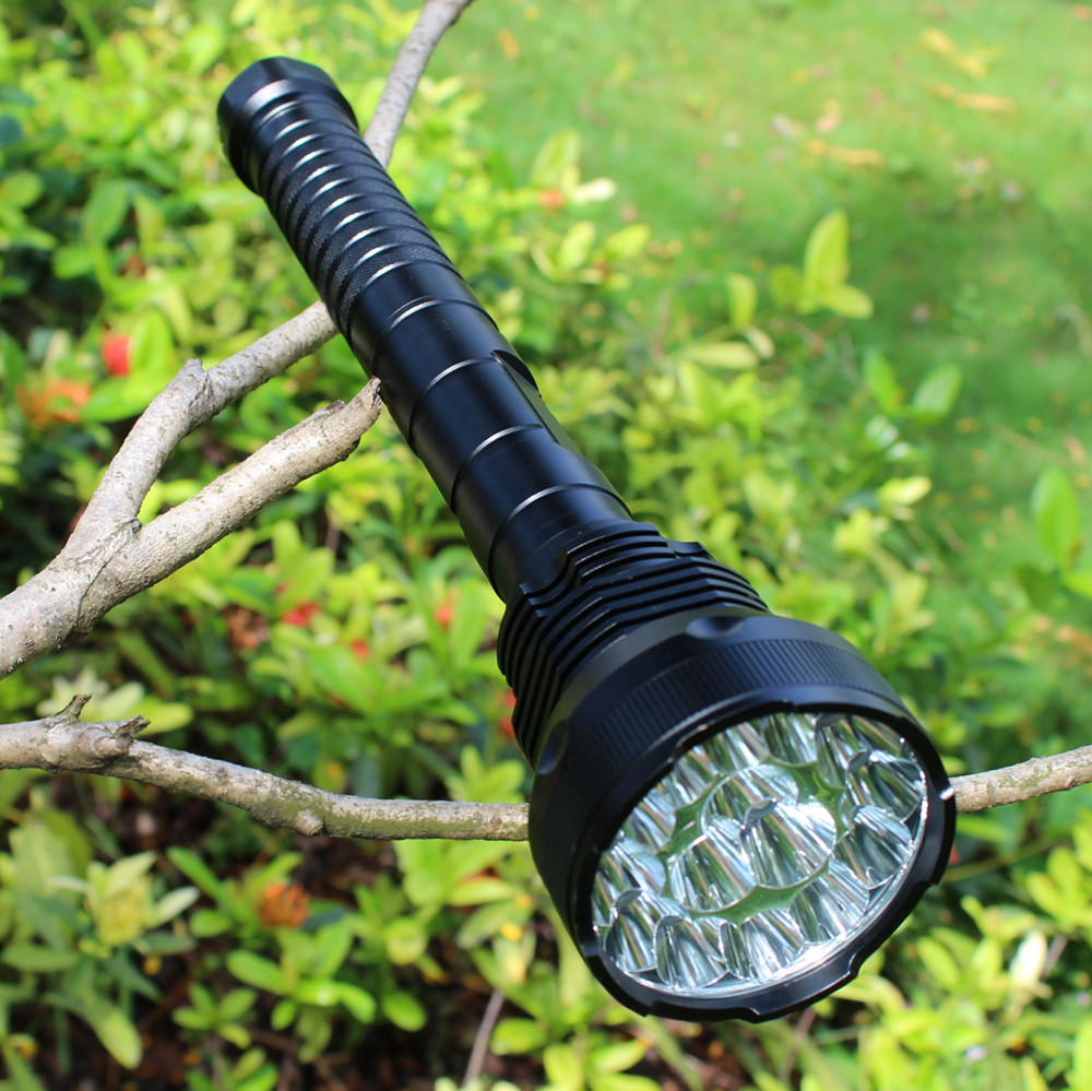 Sofirn C19 High Power LED Flashlight 18650 Self defense Military Tactical Powerful Flashlight 26650 Torch Light Camping Hunting