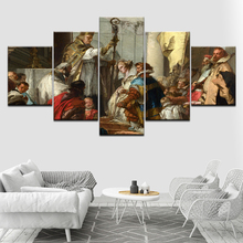 The marriage of Frederick Barbarossa 5 Piece HD Wallpapers Art Canvas Print modern Poster Modular art painting Home Decor