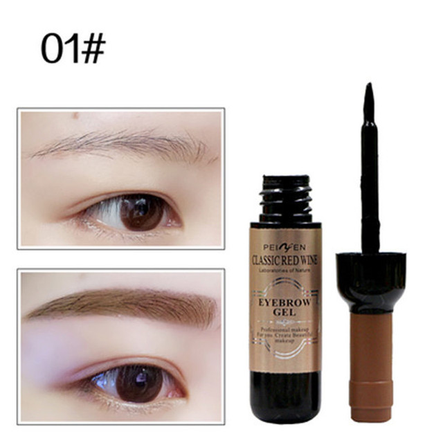 1Pcs Eyebrow Tattoo Gel Black Coffee Gray Peel Off Eye Brow Shadow Eyebrow Gel Cosmetics Makeup for Women High Pigmented Makeup 2