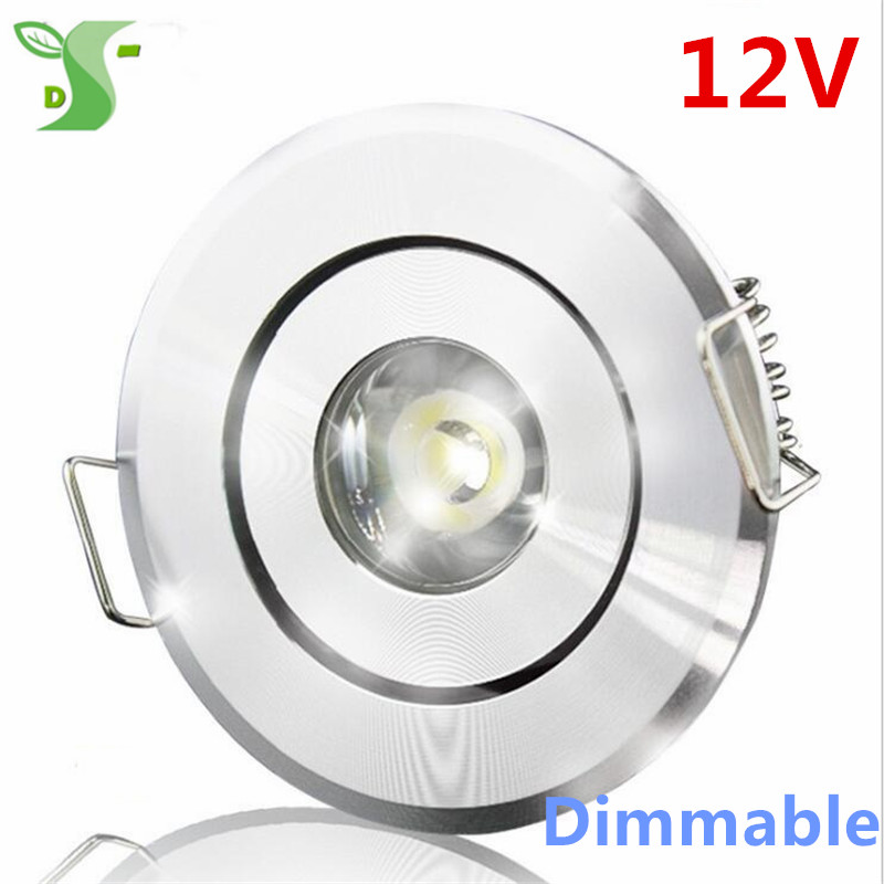 DC 12V dimmable LED downlight led verlichting led panel 1W spot ...