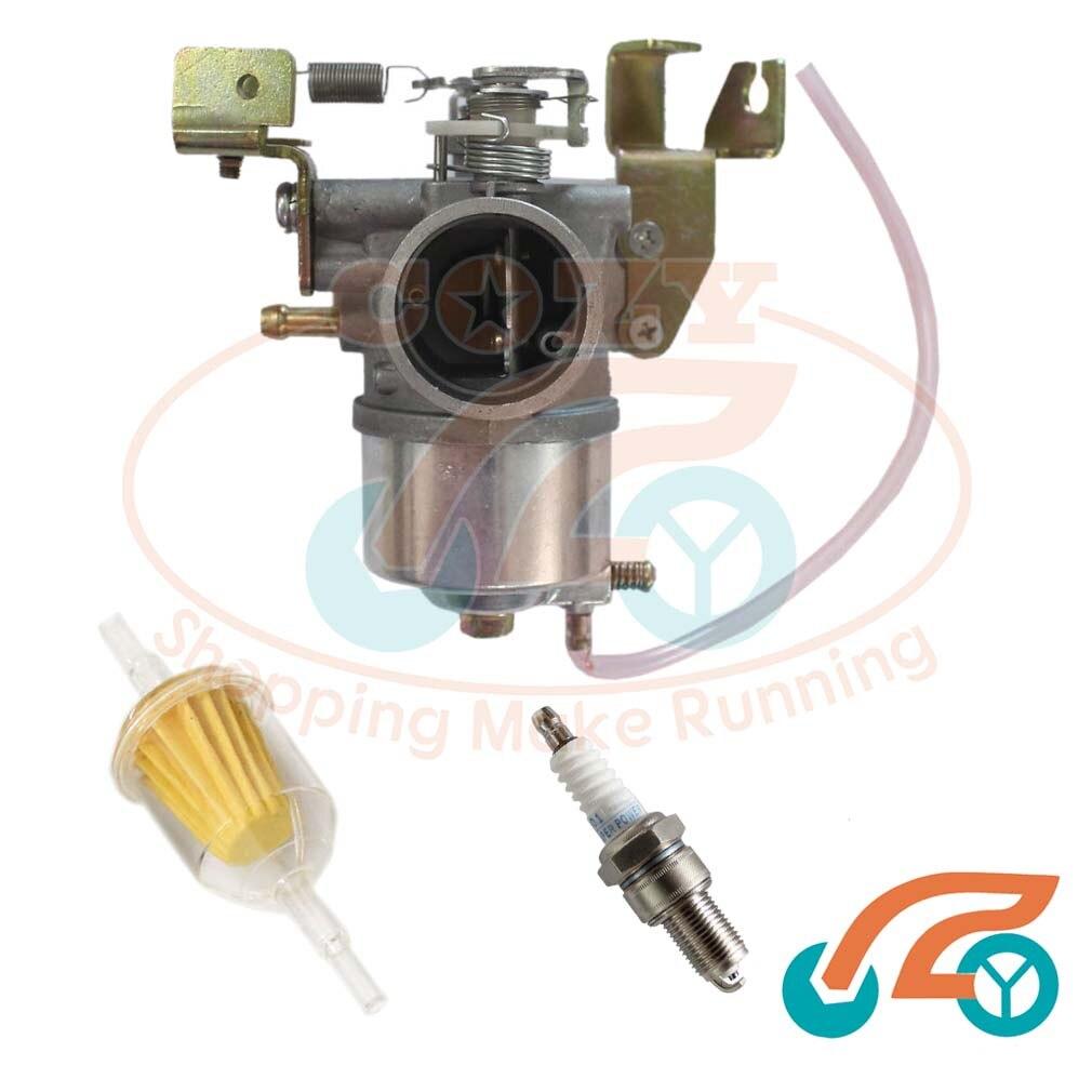 Carburetor carb fuel filter spark plug for yamaha j38 14101 02 j38 14101