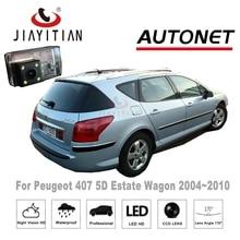 JiaYiTian For Peugeot 407 5D Estate Wagon 2004 2010 Rear View font b camerae b font