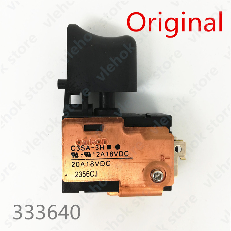 14.4V 18V SWITCH 333640 For Hitachi DS14DMR DS14DSDL DS14DL DV18DSDL DV18DMR DV18DL DV14DSDL DV14DL DS18DSDL DS18DMR DS18DL