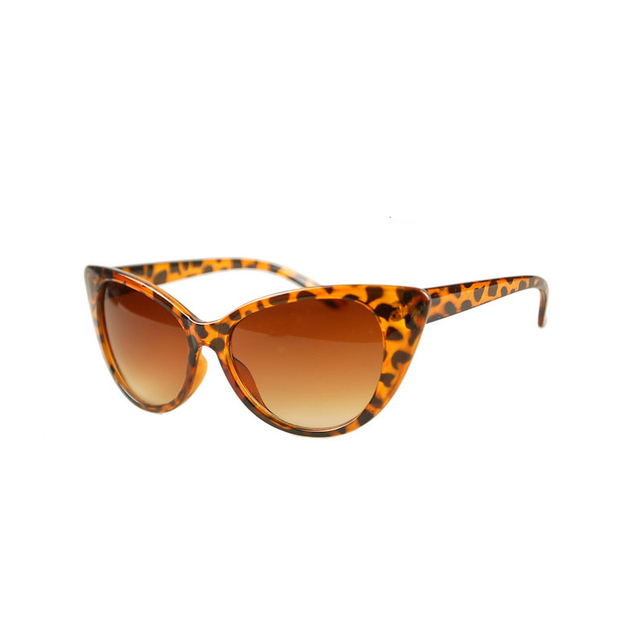 NEW Cat Eye Sunglasses of Women Fashion Sexy UV400 Sun Glasses Gradient Lens Plastic Female Eyewear oculos de sol feminino NK-4