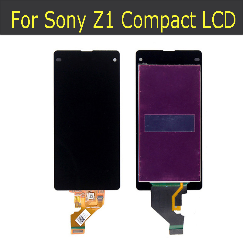 ФОТО 100% Original  For Sony For Xperia Z1 compact/ z1 mini/  M51W D5503 LCD With Touch screen Digitizer Assembly free shipping