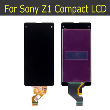 Original del 100% para sony para xperia z1 compact/z1 mini/m51w d5503 lcd con pantalla táctil digitalizador asamblea envío gratis