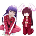 cos clothes Gokou Ruri Black Cat Sweater sportswear suit cosplay anime around Women