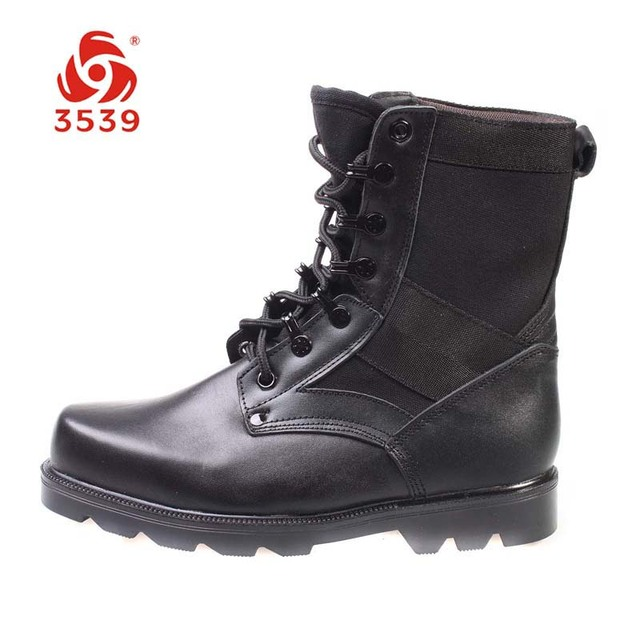 PLA military shoes 3539 Men 07 combat boots high men's boots martin boots  outdoor hiking boots