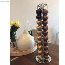 Sweettreats Nespresso Coffee Capsules Holder Carousel. Holds 40 Nespresso Pods