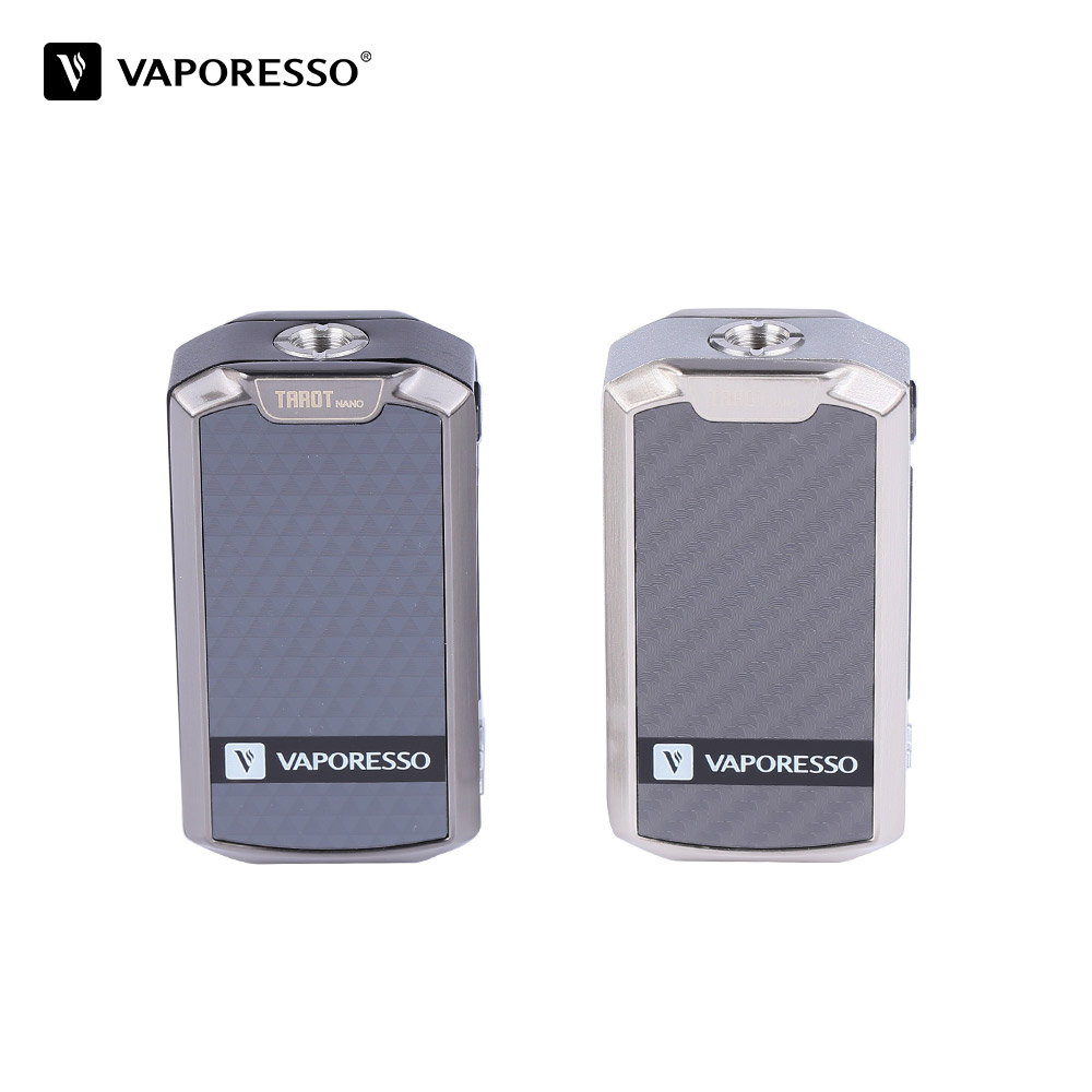 Original Vaporesso Tarot Nano Mod vape Battery 2500mAh TC Box MOD 80W for VECO EUC Tank 2ml Electronic Cigarette VW/VT modes