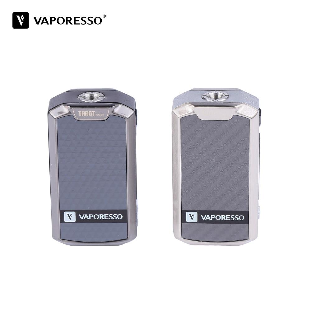 Original Vaporesso Tarot Nano Mod vape Battery 2500mAh TC Box MOD 80W for VECO EUC Tank 2ml Electronic Cigarette VW/VT modes цена