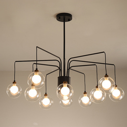 Retro loft industrial  pendant lights Modern Pendant Lighting/lamp For Living Room Nordic Suspension Hanging Light