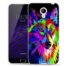 Cases with Wolves and Tigers for Meizu