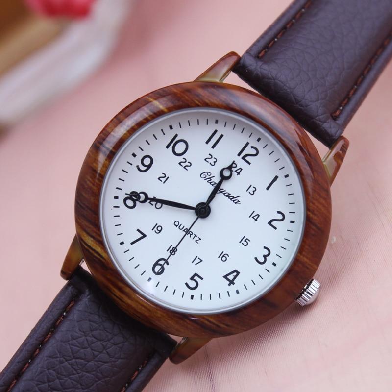 Genuine Leather Women Men Watches Luxury Brand Quartz Couples Watch Casual Ladies  Boys Girls Fashion Watches Women Clock