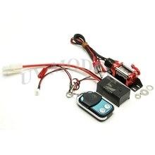 RC Crawler Cabrestante Con Cable de Acero Automático Sistema de Control Remoto Inalámbrico + Receptor