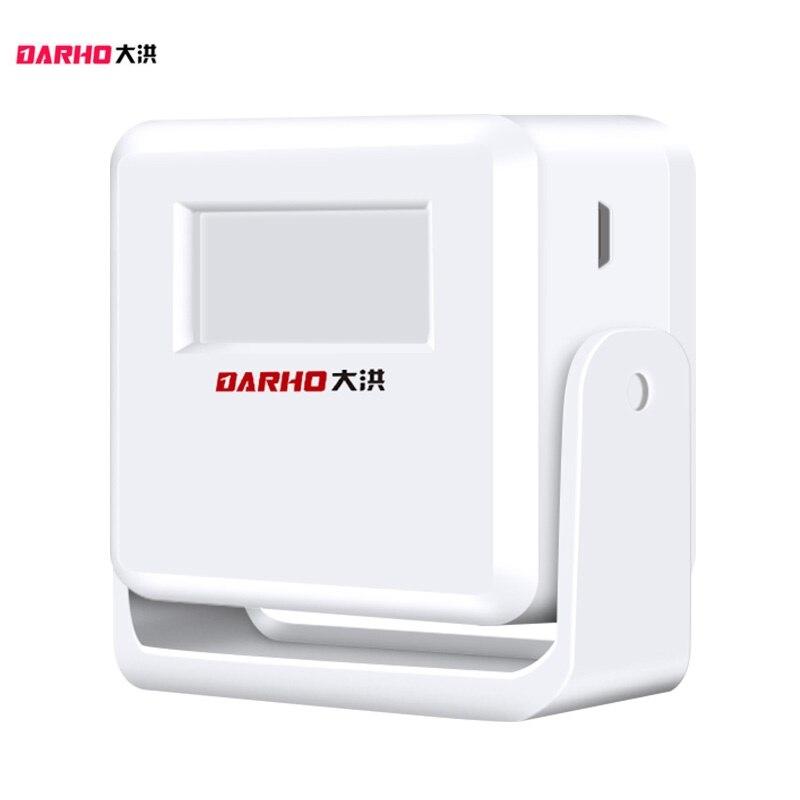 Darho 2018 New Optional Wireless Doorbell PIR Store Shop Home Welcome Motion Sensor Infrared Detector Induction Alarm Door Bell все цены