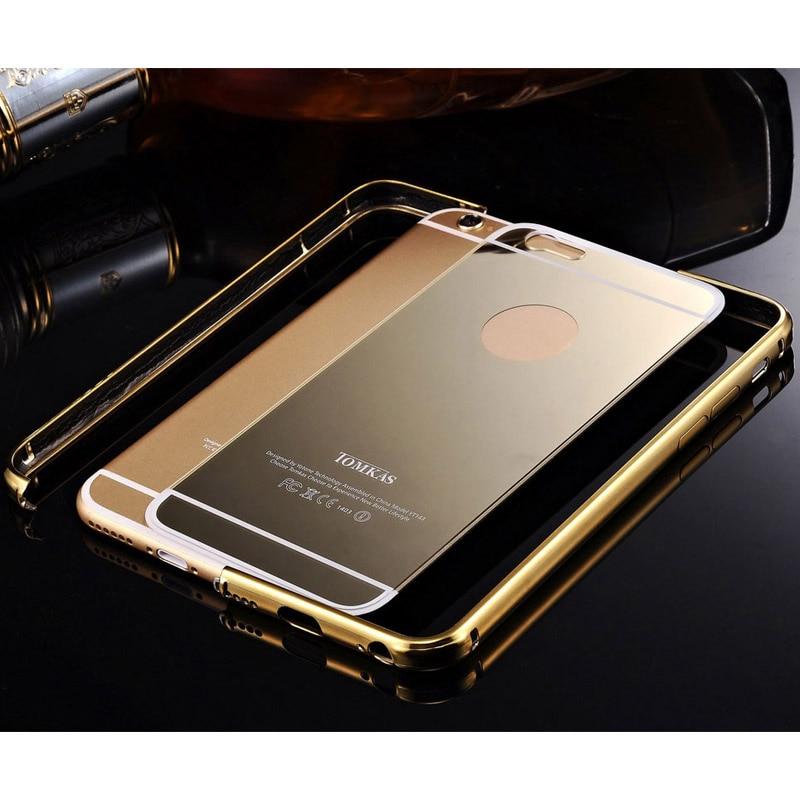 Spegelväska för iPhone 6 4,7 tums lyx akryl + aluminium smal - Reservdelar och tillbehör för mobiltelefoner - Foto 3