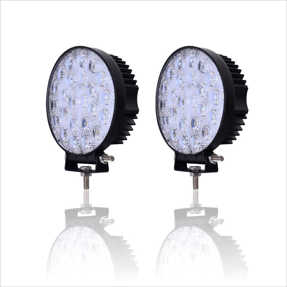 2 PCS GERUITE 72W LED Spotlight Billys For Truck SUV Båt Jakt Fiske IP67 Vanntett Arbeidslampe LED SpotLights