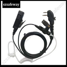 4PCS two way radio earphone walkie taklie headset for Hytera PD505 TC-700, TC-610, TC-620, TC-518, TC-580, TC-446S, TC-508 tc c039h