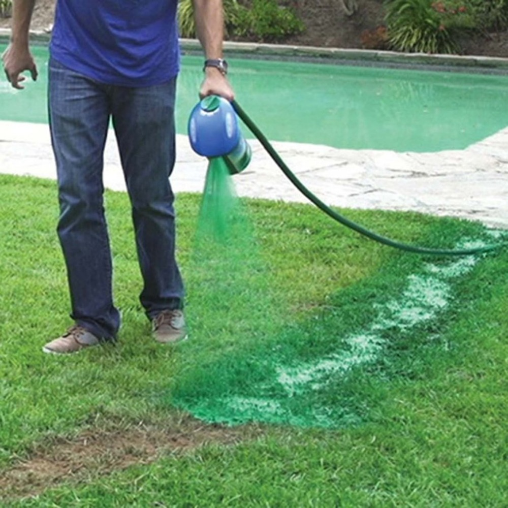 Image 2 - Gardening Seed Sprinkler Lawn Hydro Mousse Household Hydro Seeding System Grass Liquid Spray Device Seed Lawn Care Watering-in Watering Kits from Home & Garden