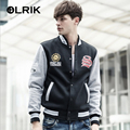 OLRIK 2016 Autumn New Men Hoodies Casual Jacket Fleece Coat Brand Clothing Sweatshirt Mens fitness 3 Colors