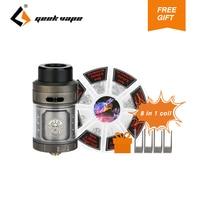 GeekVape Zeus RTA Tank Atomizer 4ml Capacity 25mm Diameter RTA Atomizer Fit Most 510 E Cig
