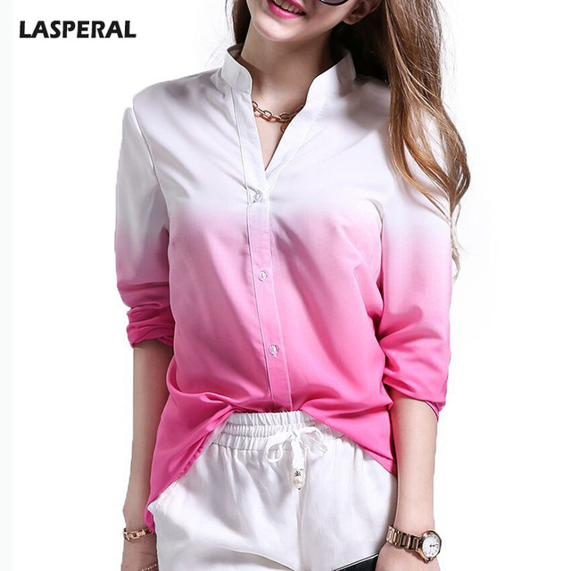 Lasperal Y V Neck Office Las T Shirts Summer Autumn Women S Long Sleeve Casual Grant