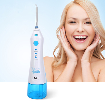Gustala FC158 220ml Electric Portable Oral Irrigator Dental Flosser Cordless Dental Water Jet SPA Teeth Cleaning Tooth Care