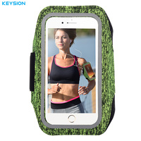 KEYSION Universal Sports Arm Band Case For IPhone 6 6S 7 Plus Fo S8 S7