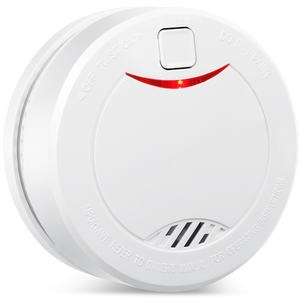 HEIMAN 10 Years Independent Lithium Battery Smoke Detector Photoelectric Sensor Fire Alarm,CE Certified Safety & Security-626PHS