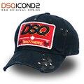 DSQICOND2 высококачественные брендовые бейсболки, бейсболка для грузовика, кепка для женщин и мужчин, gorras plan бейсболка с колпаком, s грузовые шапки - фото