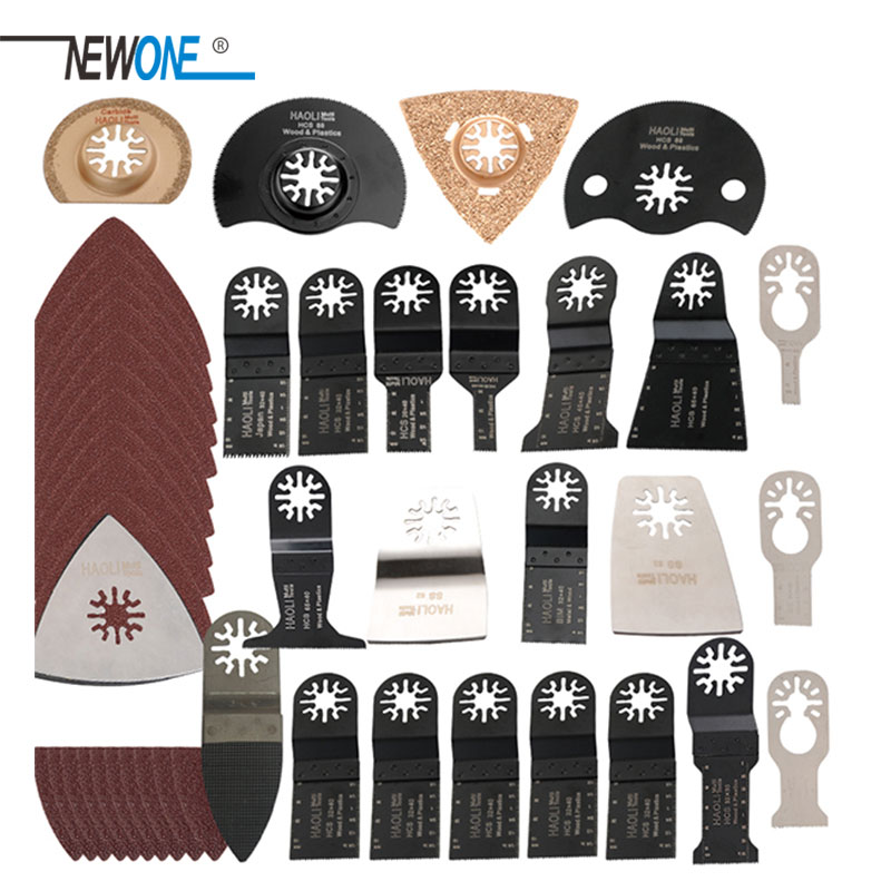 Hot sale 100 pcs oscillating multi tool saw blades accessories fit for multifunction electric tool as