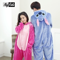 Hot koop herfst flanel cartoon leuke Rompertjes vrouwen pijama feminino slaap lounge winter plus size footed vrouwen pyjama voor volwassenen