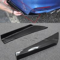 Car Styling Carbon Fiber Front Side Corner Bumper Protector For Universal Model