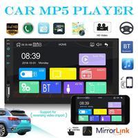 7 inch 2 Din Car Raido Touch Screen Bluetooth AUX USB 2din Stereo Autoradio Auto Carplay Video Audio Player Mediaplayer
