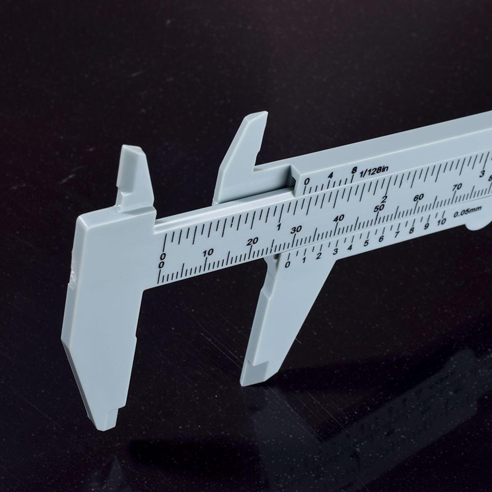 150 mm-es féknyereg műanyag mérőszerszám, hordozható Vernier - Mérőműszerek - Fénykép 6