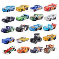 Disney-Coche de juguete Pixar Cars núm. 123, metálico, fundido a presión, 1:55, nuevo Disney Cars2 y Cars3, Envío Gratis