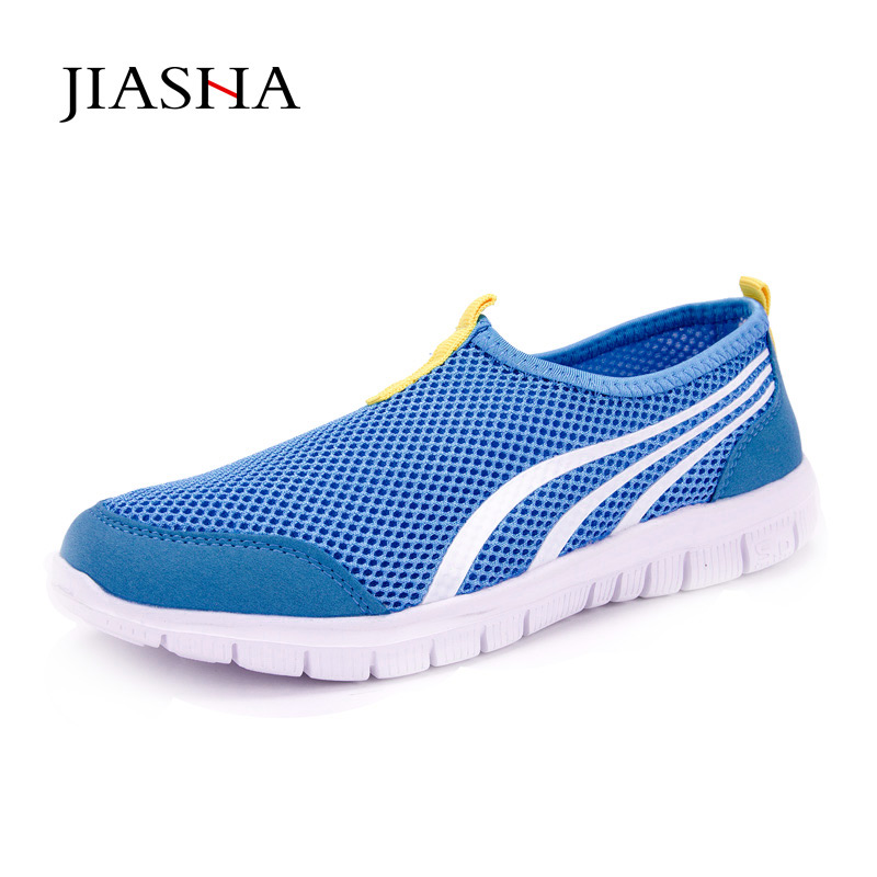 Women shoes 2018 fashion hot breathable mesh summer shoes women sneakers light EVA casual shoes woman free shipping candy color women garden shoes breathable women beach shoes hsa21