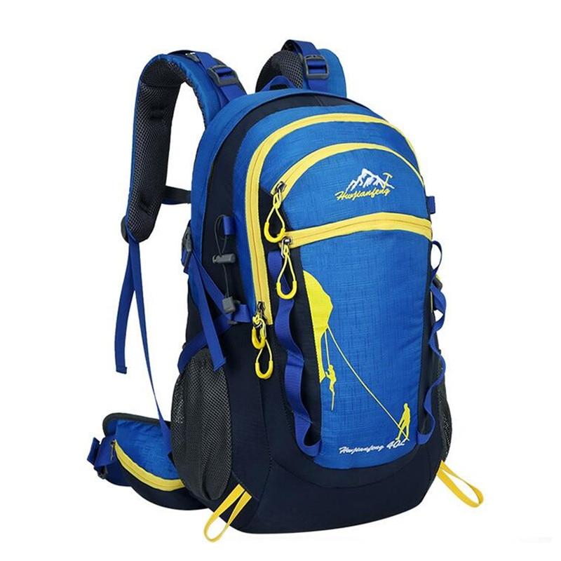 HUWAIJIANFENG Outdoor Sport Backpack 40L Men Women Mountaineering Bag Brand Travel Hiking Climbing Camping Backpack S212 цена