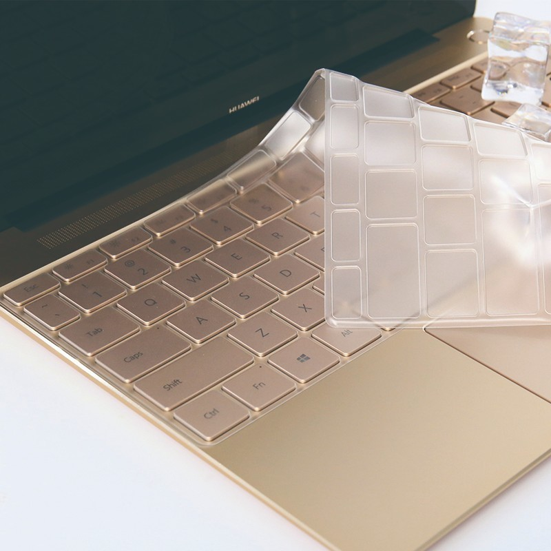 Waterproof Fully Transparent TP Invisible Keyboard Cover protection Film For HUAWEI 13 inch MateBook X special TPU keyboard.